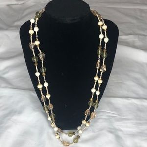 Two layer Beads. 52 inches long. Can Doubl…